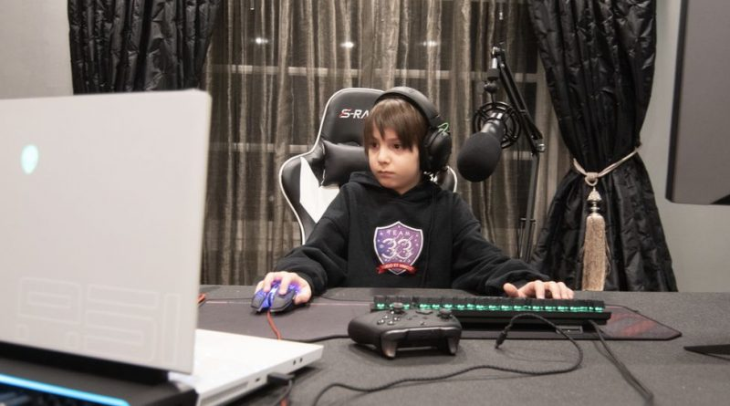 Fortnite: From piano player to pro gamer – aged just eight