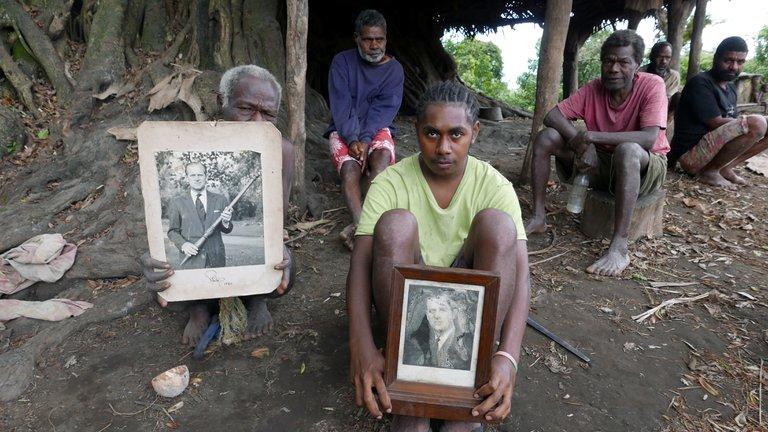 La tribu del Pacífico que cree que el príncipe Felipe era un Dios reencarnado